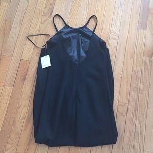 Calvin Klein Dresses Crepe Halter Dress Poshmark